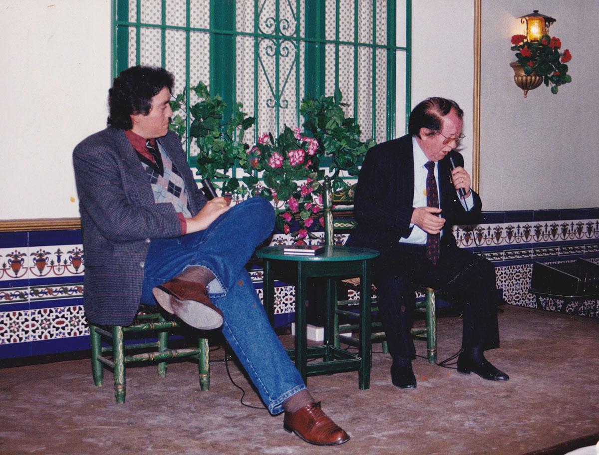 Manuel Bohórquez y Juan Valderrama – Peña Flamenca El Chozas