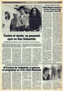 Rafael Riqueni devolvió la sonrisa al Lope de Vega con una gran actuación | VI Bienal de Arte Flamenco | Teatro Lope de Vega | 25 sep 1990