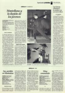 Montellano y la ilusión de los jóvenes | Niño de la Ribera, La Tremendita, Julián Estrada, María de Toledo, José de la Mena, Daniel Casares, Rubén Lebaniegos, José el Tremendo, Israel Galván, Juan José Amador, Pedro Sierra | XX Festival Flamenco de Montellano| 2 ago 1999