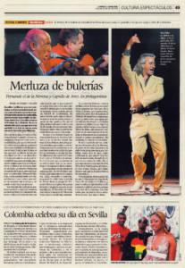 Merluza de bulerías | Fernando de la Morena, Capullo de Jerez, Javier Rivera | Festival Flamenco Guillena | 20 jul 2008