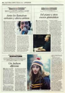 Antes los llamaban caricatos y ahora artistas | 'Y de lo mío, ¿qué' – Tomasito | Teatro Lope de Vega | 4 mar 2010