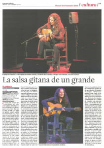 La salsa gitana de un grande | Tomatito | XIX Bienal de Are Flamenco | Teatro Lope de Vega | 14 sep 2016