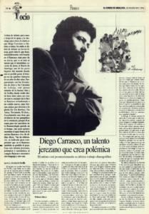 Entrevista - Diego Carrasco, un talento jerezano que crea polémica | 18 feb 1994