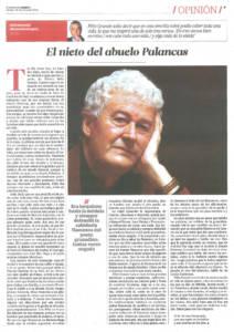 Félix Grande - El nieto del abuelo Palancas | El Correo de Andalucía | 30 ene 2016