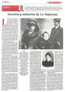 La Mejorana - Pastora Imperio - Secretos y misterios de La Mejorana | El Correo de Andalucía | 9 jul 2016