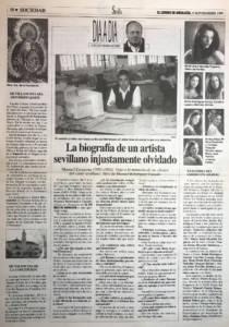 Entrevista a Manuel Bohórquez por Jose María Gómez – Biografía Manuel Escacena – El Correo de Andalucía