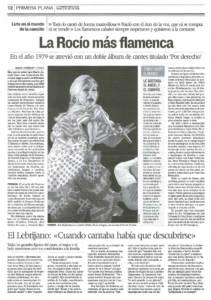 La Rocío Jurado más flamenca – Luto en el mundo de la canción | 2 jun 2006