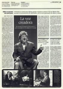 La voz creadora – Adiós a un grande del cante jondo (2) – Enrique Morente | 14 dic 2010