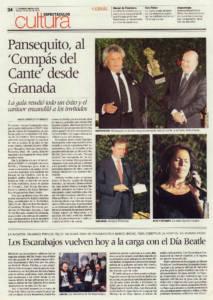 Pansequito, al compás del cante desde Granada | 10 jul 2010