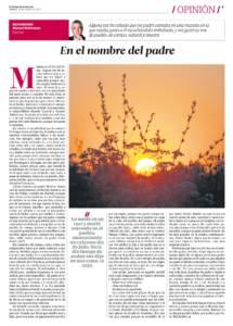 En el nombre del padre | El Correo de Andalucía | 18 mar 2017