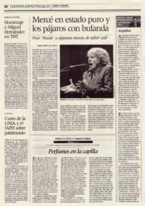 Mercé en estado puro y los pájaros con bufanda | 'Ruido' – José Mercé, Morao, Dani de Morón | Teatro de la Maestranza | 23 ene 2011