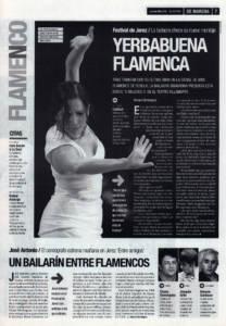 Eva Yerbabuena: «No es que las de ahora aportemos más que las de antes. es que se nos reconoce más el trabajo» | 'Entre amigos' – josé Antonio | 8 mar 2001