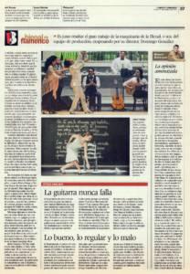 La Bienal de las escasas emociones (2) – La guitarra nunca falla – Lo bueno, lo regular y lo malo | XVI Bienal de Flamenco | 11 oct 2010