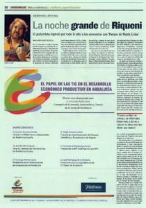 La noche grande de Riqueni | Rafael Riqueni | Teatro Lope de Vega | 17 sep 2011