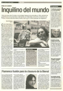 Entrevista - Diego Carrasco, inquilino del mundo | 28 jun 2000