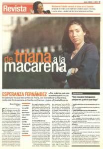 Entrevista - Esperanza Fernández, de Triana a la Macarena | 18 may 2000
