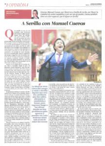 A Sevilla con Manuel Cuevas | El Correo de Andalucía | 19 dic 2015