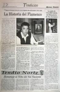 Entrevista Manuel Bohórquez en Ronda Norte - Libro Manuel Escacena