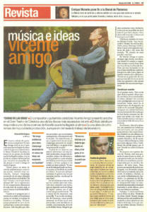 Música e ideas – Vicente Amigo | 7 oct 2000