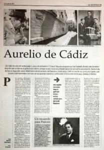 Aurelio de Cádiz – Aurelio Sellé Nondedeu | 27 jul 2003