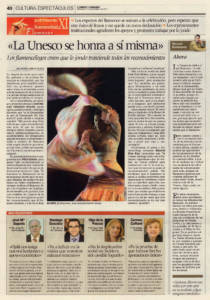 Opinión: Ahora – Flamenco Patrimonio Cultural Inmaterial de la Humanidad | 17 nov 2010