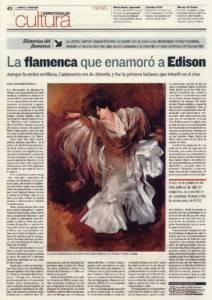 La flamenca que enamoró a Edison – Carmen Dauset Moreno | 18 abr 2011