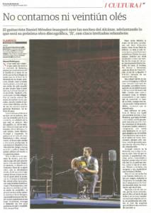 No contamos ni veintiún olés | Dani de Morón (Daniel Méndez), Rocío Márquez, Jesús Méndez, Duquende, Arcángel | XIX Bienal de Flamenco de Sevilla | Reales Alcázares | 22 sep 2016