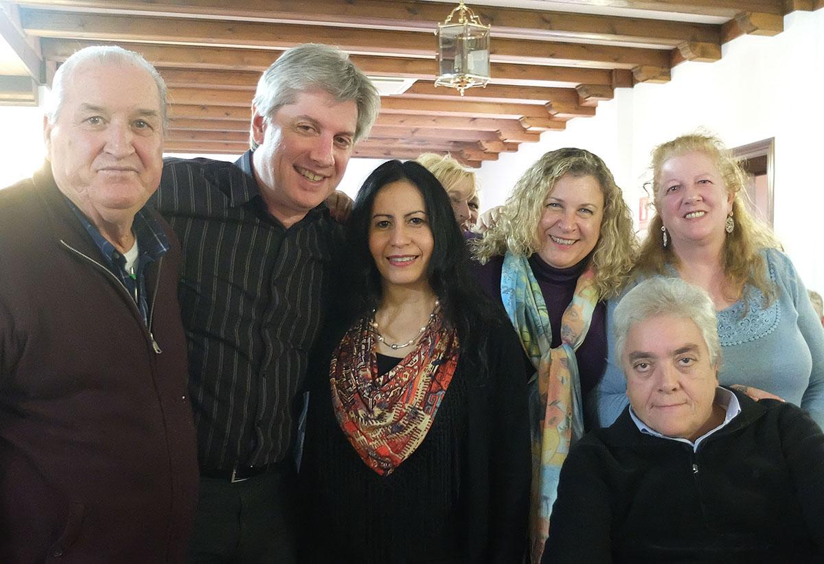 Sonrisas flamencas en La Truja. VI Encuentro de Gazaperos, Coria del Río, 25 nov 2018.